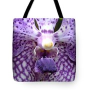 Micro Orchid Tote Bag