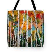 Middle Mountain Aspens Tote Bag