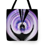 Midnight Bolero Tote Bag