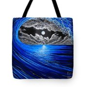 Midnight Bowling  Tote Bag