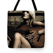 Midnight Musician Tote Bag