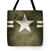 Military Army Star Background Tote Bag
