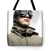 Military Man Tote Bag