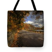 Mill Creek Park In Autumn Tote Bag