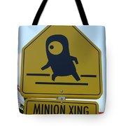 Minion Crossing Tote Bag