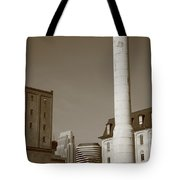 Minneapolis Smokestack Tote Bag
