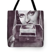 1 Minute Miss Davis Tote Bag