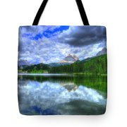 Mirror In The Sky Tote Bag