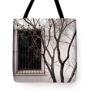 Mission Church Window Tote Bag