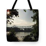 Missouri River Sunrise  Tote Bag