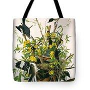 Mocking Birds And Rattlesnake Tote Bag