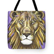 Mod Male Lion Tote Bag
