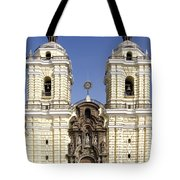 Monastery Of San Francisco - Lima Peru Tote Bag