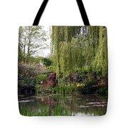Monets Garden Tote Bag