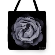 Monochrome Rose Tote Bag