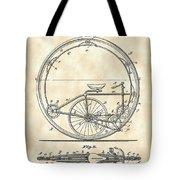 Monocycle Patent 1894 - Vintage Tote Bag