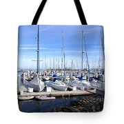 Monterey Harbor California Tote Bag