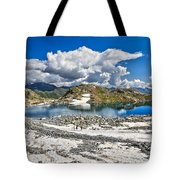 Monticello Lake - Tonale Pass Tote Bag