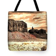Monument Valley II Tote Bag