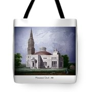 Monumental Church - 1812 Tote Bag