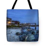 Moon Over Dewey Beach Tote Bag