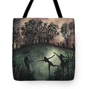 Moonlight Dance Tote Bag