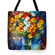 Morning Charm Tote Bag by Leonid Afremov