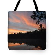 Morning Stillness Tote Bag