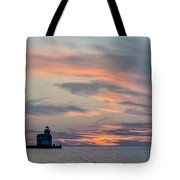 Blue Morning Whispers Tote Bag