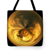 Morphed Art Globe 7 Tote Bag