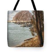 Morro Rock Reflection Tote Bag