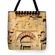 Mosque-cathedral In Cordoba Tote Bag