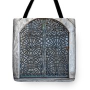 Mosque Window Tote Bag
