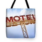 Motel Sign Tote Bag