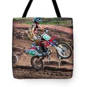 Motocross Rider Tote Bag