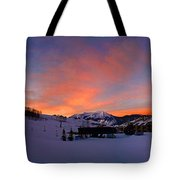 Mount Crested Butte Tote Bag