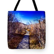 Mountain Creek Path-sundance Utah Tote Bag