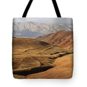 Mountain Scenary Near Zanjan In Iran Tote Bag