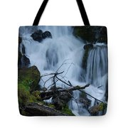 Mountain Waterfall Tote Bag