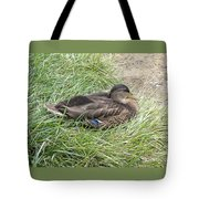 Ms Mallard Tote Bag
