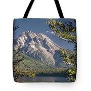 Mt. Moran And Jenny Lake Tote Bag