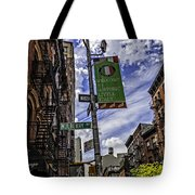 Mulberry St - Nyc Tote Bag