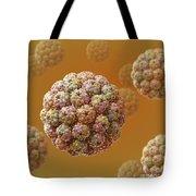Murine Polyomavirus Tote Bag