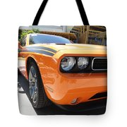 Muscle Car Tote Bag