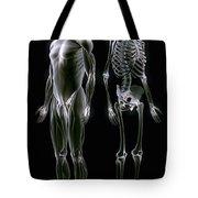 Muscles And Bones Tote Bag