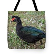 Muscovy Ducks Tote Bag