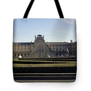 Musee Du Louvre In Paris France Tote Bag