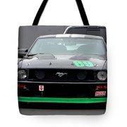 Mustang Race Car Tote Bag