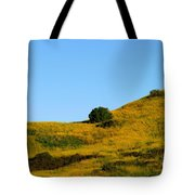 Mustard Grass Tote Bag