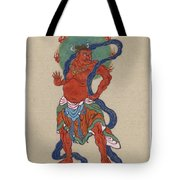 Mythological Buddhist Or Hindu Figure Circa 1878 Tote Bag
